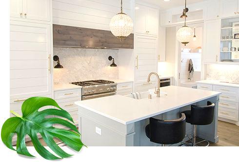 デザイン性の高いキッチン