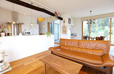 ロハスな雰囲気のお部屋